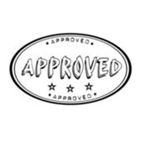 rubber st approval office st with the word approved stock vector
