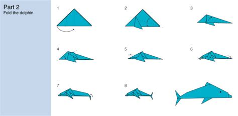 origami dolphin challenge how to fold an origami dolphin marine