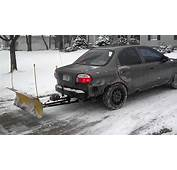 Snow Plow Car 2  YouTube