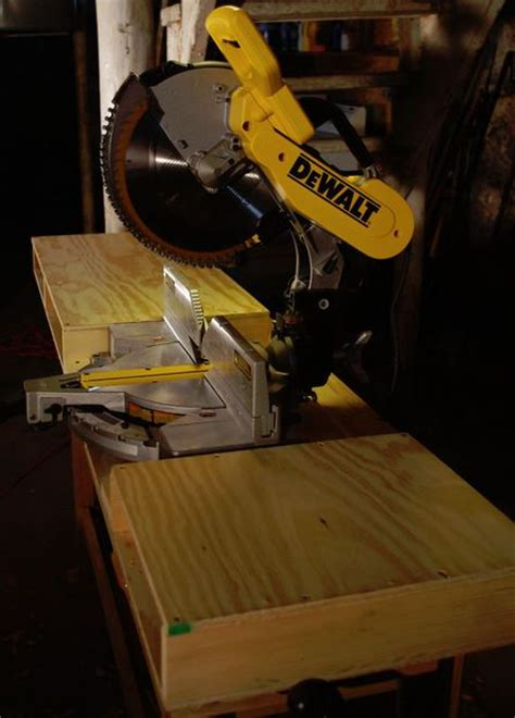best miter saw for woodworking make an easy miter saw table woodworking