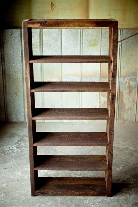 woodworking bookshelf reclaimed wood bookshelf reclaimed wood farm table
