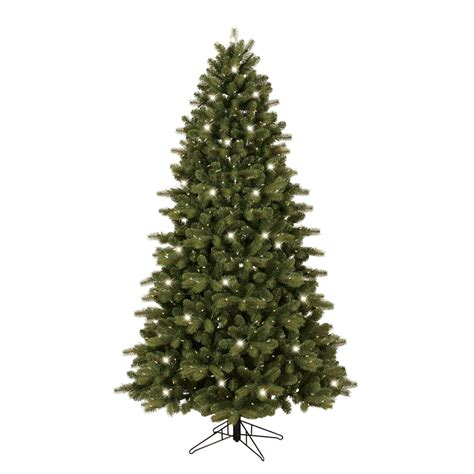 shop ge 7 ft pre lit colorado spruce artificial