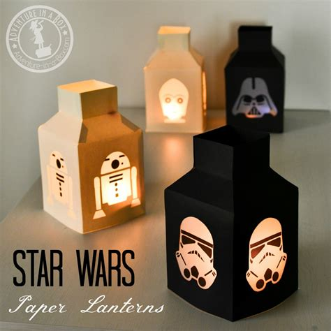 paper craft wars wars paper lanterns adventure in a box