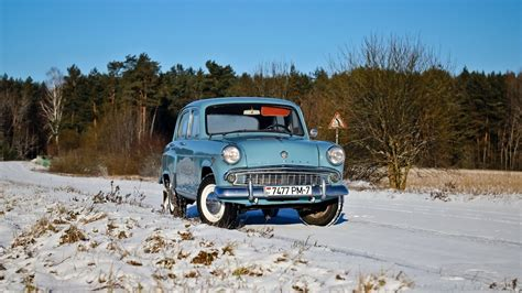 Car Wallpaper Winter by Winter Snow Car Vehicle Blue Cars Moskvich Russian