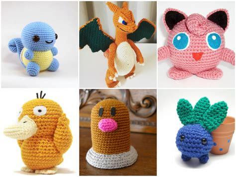 Crazy Home Decor 11 x crochet pattern pokemon go free stylesidea