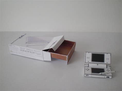 nintendo paper craft nintendo ds papercraft by insomniacbt on deviantart