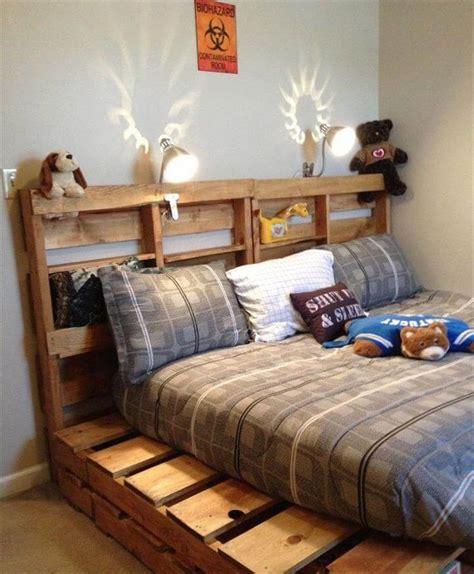 bed frame designs 42 diy recycled pallet bed frame designs
