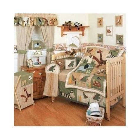 zoo crib bedding set kidsline zanzibar crib bedding set boys zoo safari animal