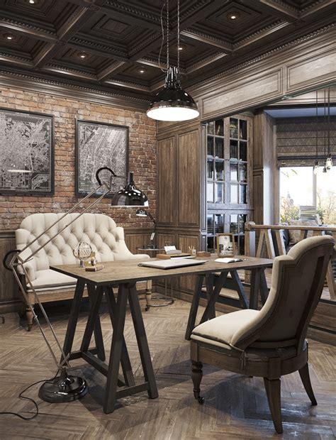 vintage style office furniture vintage home office ideas