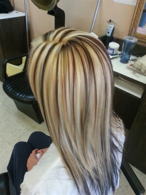 lowlights hair color pics highlights chunky lowlights love short hairstyle 2013