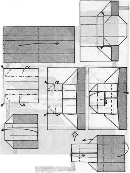 origami illusion origami box illusion revealed comot
