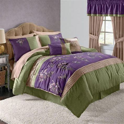 purple and green comforter set pin by irina beckmeyer on home kitchen