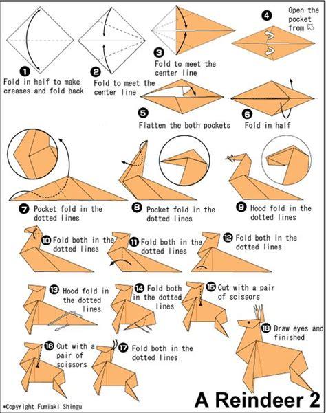 Origami Deer Craft Ideas Deer