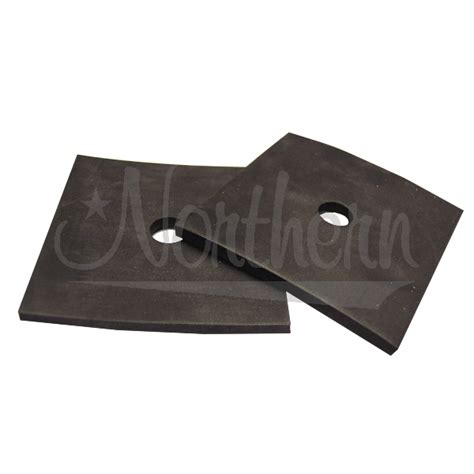 rubber st mounting supplies northern factory square rubber mount pads 3 x 3 3 16 2 pk