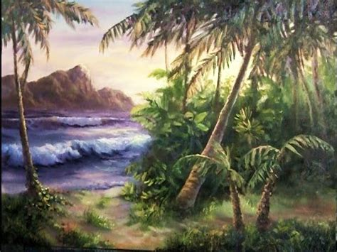 paint island tropical island paint with kevin hill painting