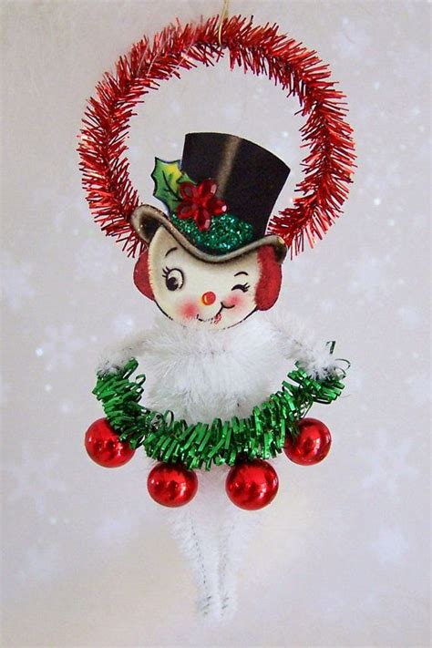 feather ornaments for trees mr snowman ornament feather tree