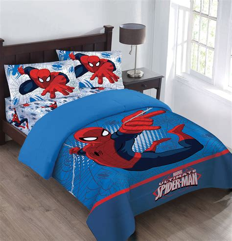 comforter sets with sheets marvel the webbed comforter set with