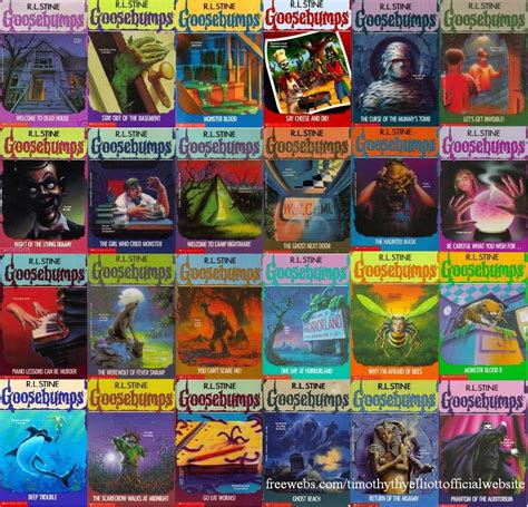 list of goosebumps books with pictures review carnival book review rl stine goosebumps