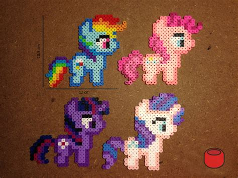 my pony perler my pony perler bead crafts
