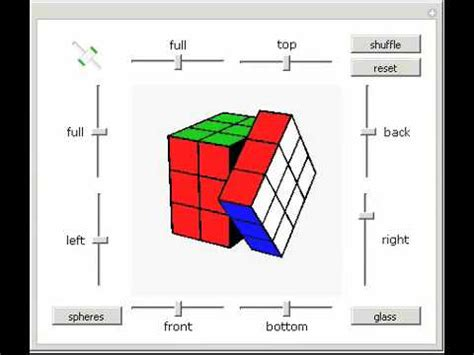 how to color color cube 3x3x3 puzzle