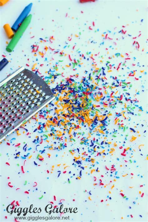 wax paper crayon craft wax paper melted crayon melted crayons crayon
