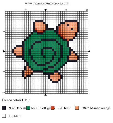 perler bead turtle pattern turtle hama perler pattern turtles