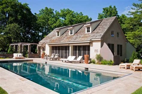 house plans with pool house guest house pool guest house plans escortsea
