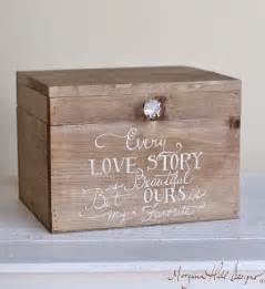 how to make a card box for a wedding morgann hill designs wedding card box rustic county barn