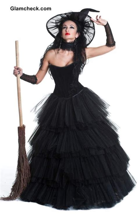 witch ideas glamorous witch costume