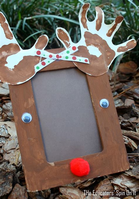 reindeer crafts the educators spin on it preschool reindeer crafts and