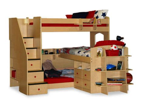 3 bedded bunk beds 24 designs of bunk beds with steps these