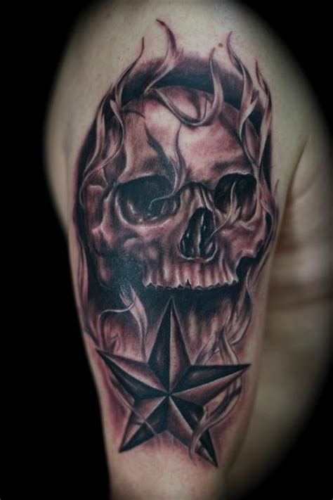 skull and nor cal star filagree by ryan el dugi lewis