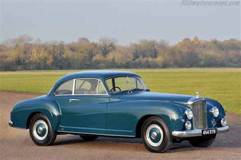 Bentley R Type Continental by 1954 Bentley R Type Continental Franay Sports Saloon
