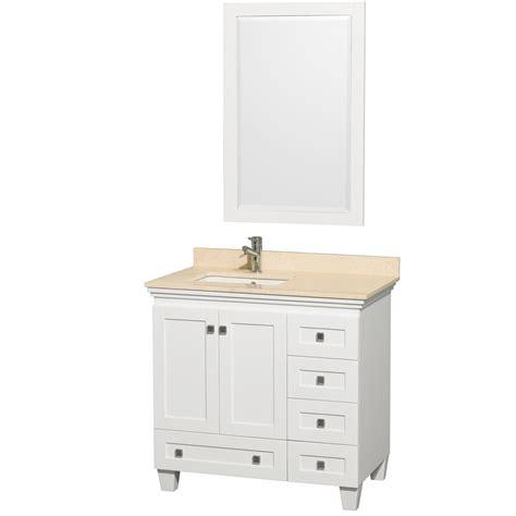 36 Bathroom Vanity Cabinet 36 Quot Acclaim Single Bathroom Vanity Set By Wyndham Collection White Bathroom Vanities
