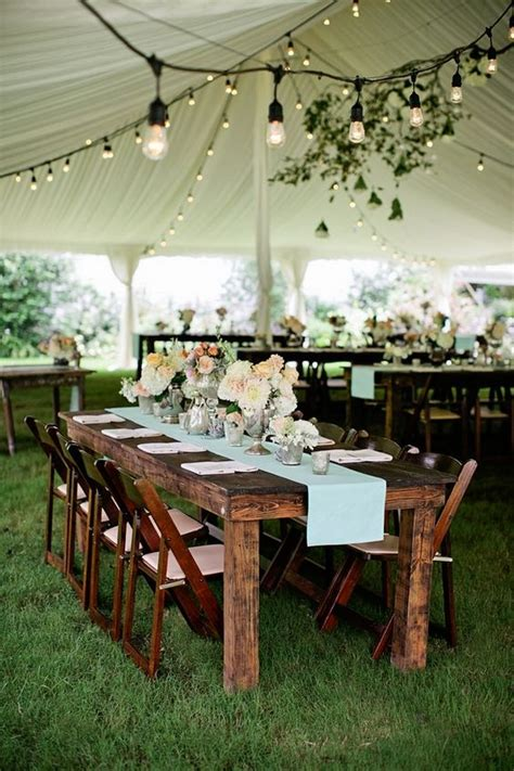 Cheap Outside Wedding Decorations by 30 Chic Wedding Tent Decoration Ideas Deer Pearl Flowers