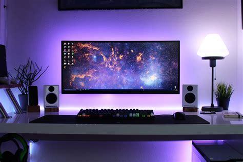 office desk setup desk setup tour 2016