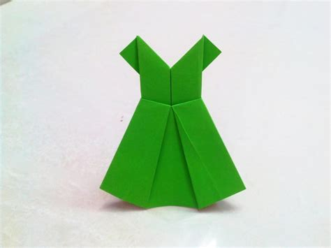 one origami free coloring pages how to make an origami paper dress 1