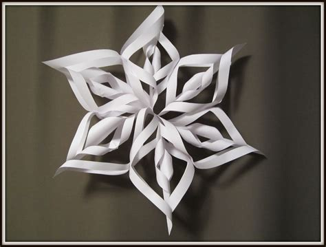decorations and crafts paper snowflake and craft for how to make 3d
