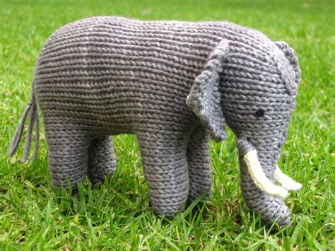 knitted elephant free pattern ellie the knitted elephant and a small giveaway