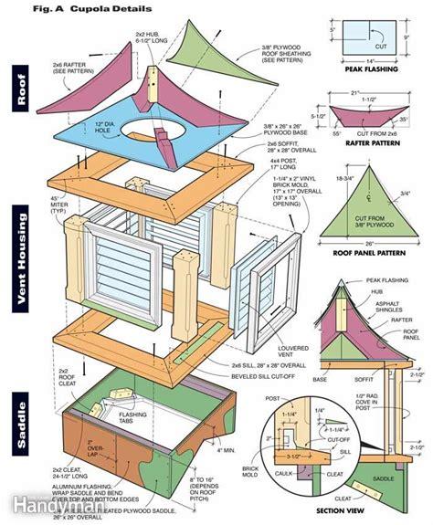 cupola house plans how to build a cupola the family handyman