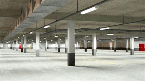 underground parking garage underground parking garage 02 3d cgtrader