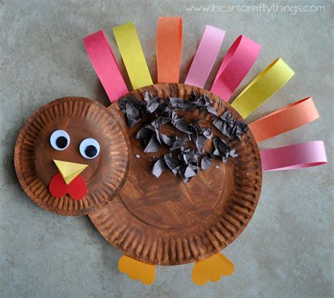 paper plate turkey crafts paper plate turkey craft i crafty things