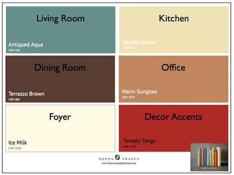 color palette for home interiors 2017 color trends color stories 001 painting and