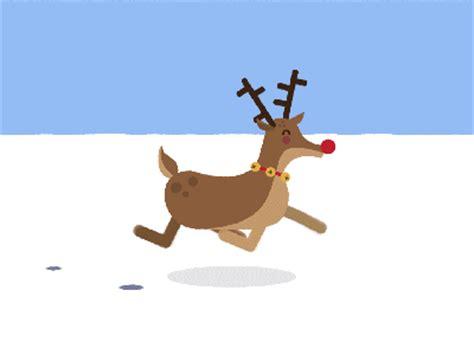 animated reindeers 30 animations dynamiques et surprenantes en gifs
