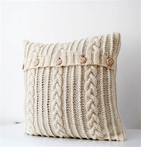 cable knit pillow cable knit pillow cover milk white decorative by pillowlink