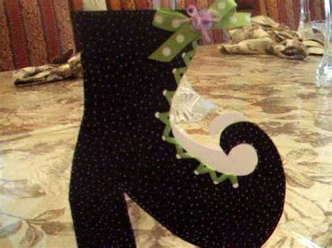 shoebox crafts for card paper crafts witches boot