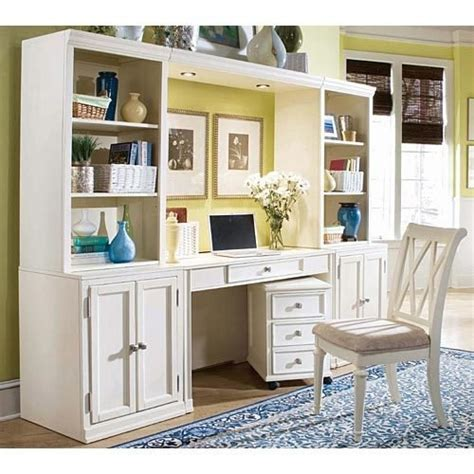 wall unit with desk american drew camden buttermilk desk wall unit