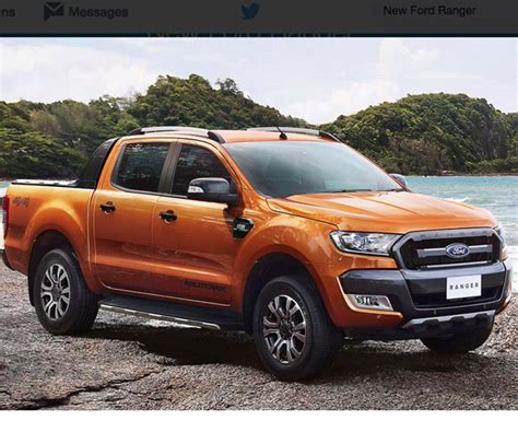 Ford Ranger Truck by Ford Ranger Truck May Be Coming Back To Us