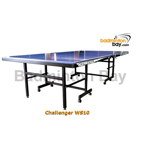 standard size ping pong table pre order challenger table tennis ping pong table