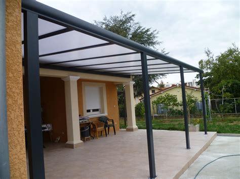 pergola alu classique toiture polycarbonate 16mm sur mesure